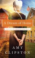 Cover image for A dream of home