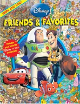 Cover image for Disney friends & favorites