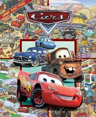 Cover image for Look and find Disney presents a Pixar film Cars