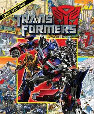 Cover image for Look and find Transformers