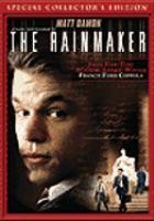 Cover image for John Grisham's The rainmaker