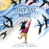 Cover image for They say blue