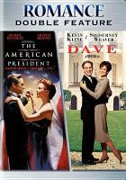 Cover image for The American president Dave