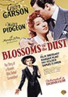 Cover image for Blossoms in the dust