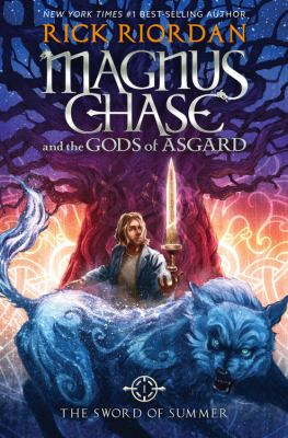 Cover image for Magnus Chase and the gods of Asgard. The sword of summer