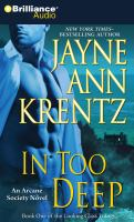 Cover image for In too deep an Arcane Society novel