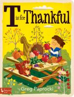 Cover image for T is for thankful