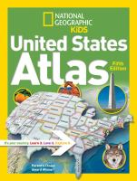 Cover image for National Geographic Kids United States atlas