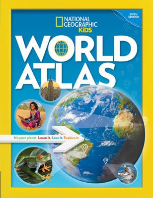 Cover image for National Geographic kids world atlas