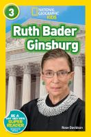 Cover image for Ruth Bader Ginsburg
