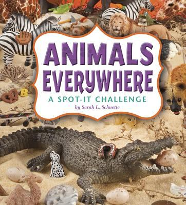 Cover image for Animals everywhere : a spot-it challenge