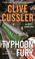 Cover image for Typhoon fury : a novel of the Oregon files