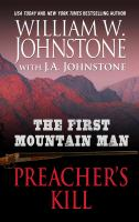 Cover image for The first mountain man. Preacher's kill