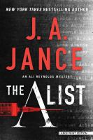 Cover image for The A list : an Ali Reynolds mystery