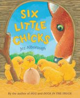 Cover image for Six little chicks