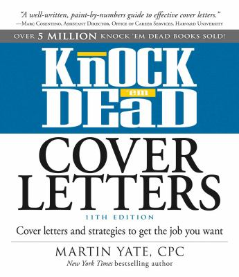 Cover image for Knock 'em dead cover letters.