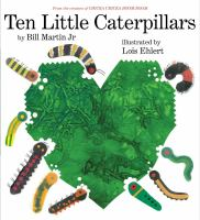Cover image for Ten little caterpillars