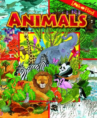 Cover image for Look and find animals