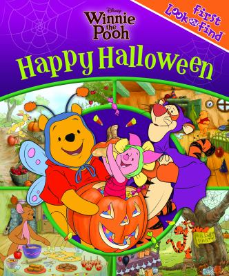 Cover image for Winnie the Pooh. Happy Halloween