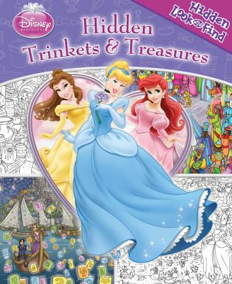 Cover image for Hidden trinkets & treasures