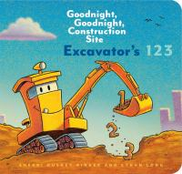 Cover image for Excavator's 123