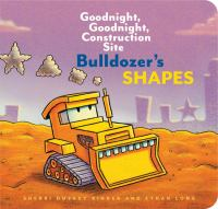 Cover image for Bulldozer's shapes