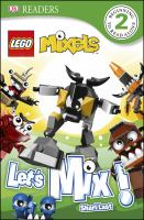 Cover image for LEGO mixels. Let's mix!