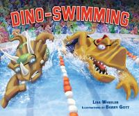 Cover image for Dino-swimming