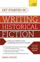 Cover image for Get started in writing historical fiction