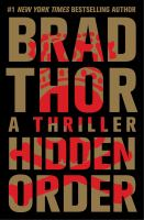 Cover image for Hidden order : a thriller