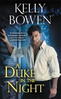 Cover image for A duke in the night