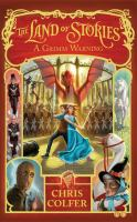 Cover image for The Land of Stories a Grimm warning