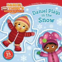 Cover image for Daniel Tiger's neighborhood. Daniel plays in the snow