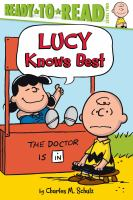 Cover image for Peanuts. Lucy knows best
