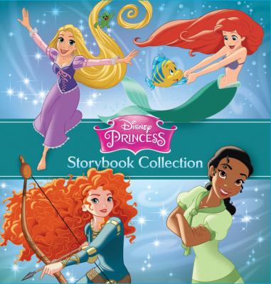 Cover image for Disney princess storybook collection.