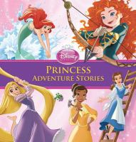 Cover image for Princess adventure stories