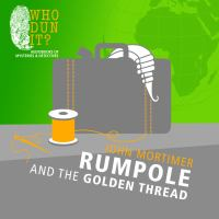 Cover image for Rumpole and the golden thread