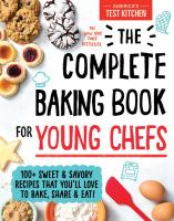 Cover image for The complete baking book for young chefs