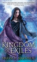 Cover image for Kingdom of exiles