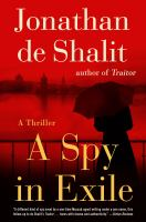 Cover image for A spy in exile : a thriller