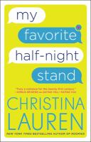 Cover image for My favorite half-night stand