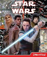Cover image for Star wars : the last Jedi look and find