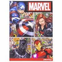 Cover image for Best of Marvel / written by Derek Harmening, Jennifer H. Keast, and Rachel Halpern ; illustrated by Art Mawhinney.