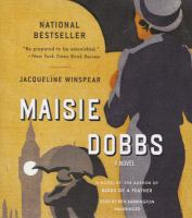 Cover image for Maisie Dobbs a novel