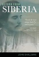 Cover image for Return from Siberia