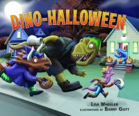 Cover image for Dino-Halloween