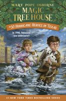 Cover image for Magic tree house. #30, Hurricane heroes in Texas