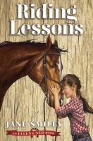 Cover image for Riding lessons. 1 : an Ellen & Ned book