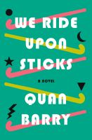 Cover image for We ride upon sticks