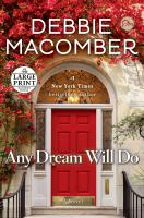 Cover image for Any dream will do : a novel